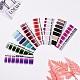 Full Cover Gradient Color Nail Art Stickers(MRMJ-X0029-13)-1