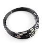 Dark Gray Steel Bracelets(TWIR-R004-18)