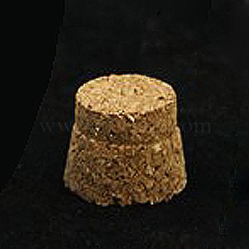 Wood Cork Stopper, Bottle Tampions, BurlyWood, 12x15x12mm(X-AJEW-L059-02)