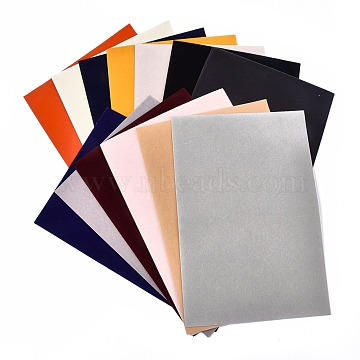 Self-adhesive Fabric, DIY Crafts, Rectangle, Mixed Color, 29.5x20x0.06cm(DIY-XCP0001-16)