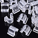 Transparent AS Plastic Base Buckle Hair Findings(FIND-T064-004A-01)-1