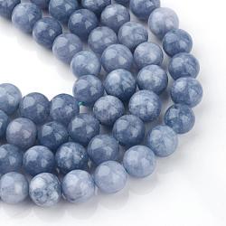 8mm LightBlue Round Aquamarine Beads(X-G-R173-8mm-03)