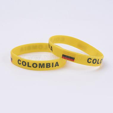Gold Silicone Bracelets