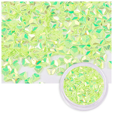 LawnGreen Diamond Plastic