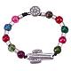 Alloy Beaded Bracelets(BJEW-Q695-12AS-NR)-1