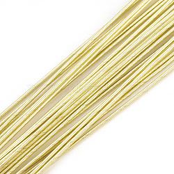 железная проволока, lightkhaki, 18 датчик, 1 мм; 40 см / нитка; 100 нить / мешок(MW-S002-03E-1.0mm)