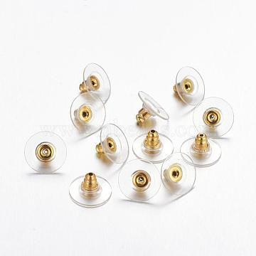 Golden Brass Earnuts