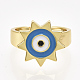 Adjustable Brass Finger Rings(RJEW-S044-057A)-2