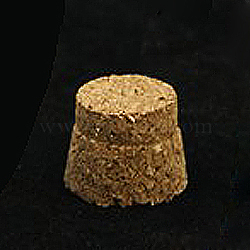 Wood Cork Stopper, Bottle Tampions, BurlyWood, 8.5x6mm(AJEW-D031-01-A)