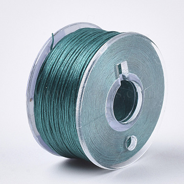 0.1mm DarkCyan Polyester Thread & Cord