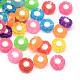 Transparent Flower Acrylic Beads(X-TACR-Q007-04)-1