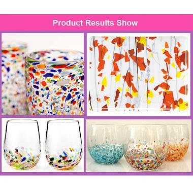COE 90 Fusible Confetti Glass Chips(DIY-G018-01C)-4