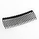 Trendy Women's Iron Hair Combs with Flower Rhinestones(OHAR-R175-06)-2