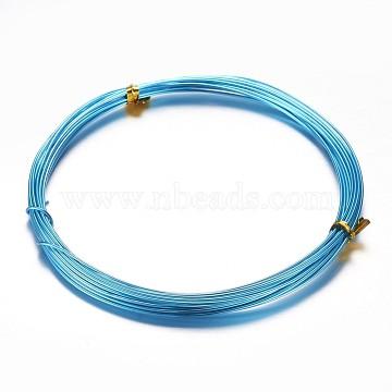 0.8mm DeepSkyBlue Aluminum Wire