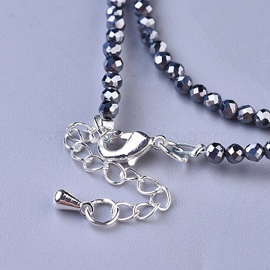Terahertz Stone Beaded Necklaces(NJEW-K114-C-A22)-3