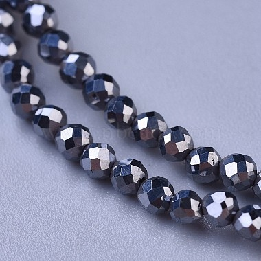Terahertz Stone Beaded Necklaces(NJEW-K114-C-A22)-2