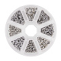 Antique Silver Mixed Shapes Alloy Spacer Beads(TIBEB-PH0004-40AS)