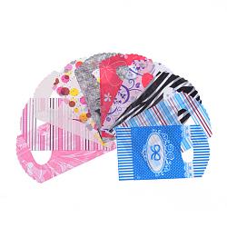 Sacs en plastique, Matériau PE, couleur mixte, 20x13 cm(X-T02FU073)