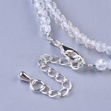 Natural Topaz Crystal Quartz Beaded Necklaces(NJEW-K114-A-A09)-3
