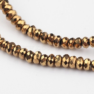 3mm Abacus Glass Beads