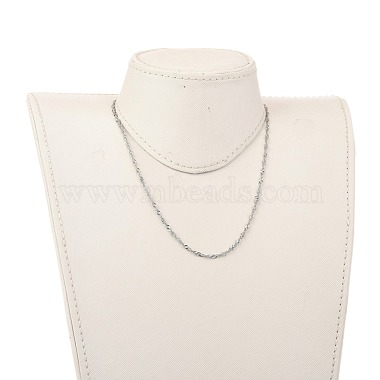304 Stainless Steel Singapore Chain Necklaces(NJEW-JN02930-02)-4