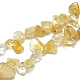 Natural Citrine Beads Strands(G-S316-38)-1
