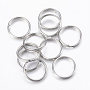 Stainless Steel Color Ring Stainless Steel Split Rings(X-STAS-H413-07P-D)