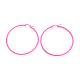 Spray Painted 304 Stainless Steel Hoop Earrings(EJEW-G258-05G)-1