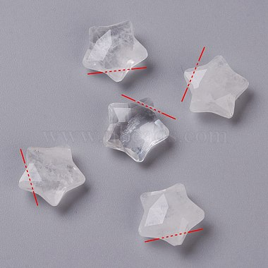 Star Quartz Crystal Charms