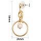 SUNNYCLUE&reg Alloy Stud Earrings and Dangle Earrings(EJEW-SC0001-07MG)-2