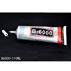 nail art b 6000 colle artisanale, colle super-sèche à séchage rapide, effacer, capacité: 110 ml(X-MRMJ-L003-Z01-110ml)