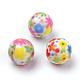 perles acryliques imprimées opaques(X-MACR-S271-10mm-22)-1