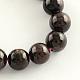 Natural Garnet Gemstone Bead Strands(X-G-R263-6mm)-1