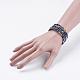 Electroplate Glass Bead Wrap Bracelets(BJEW-JB03503-03)-3