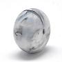 14mm WhiteSmoke Flat Round Silicone Beads(X-SIL-Q001B-69)