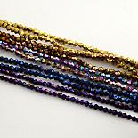 5mm Bicone Electroplate Glass Beads(EGLA-R094-4mm-M1)
