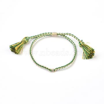 Green Nylon Bracelets
