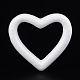 Heart Modelling Polystyrene Foam/Styrofoam DIY Decoration Crafts(DJEW-M005-05)-1