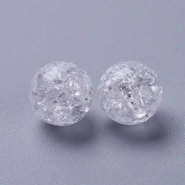 Crackle Acrylic Beads(X-PAC152Y-9)-3