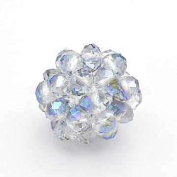 14mm Round Glass Beads