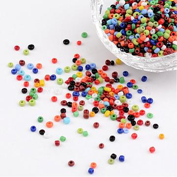 2mm Mixed Color Glass Beads