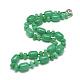 Natural Malaysia Jade Beaded Necklaces(NJEW-S390-22)-1