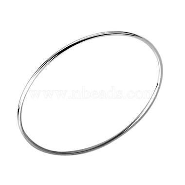 Silver Color Plated Bangle Wholesale Price(BJEW-BB12394)-2