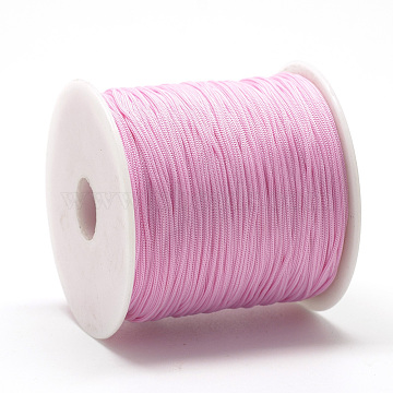 0.8mm PearlPink Polyester Thread & Cord