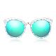 Модные круглые линзы женские солнцезащитные очки(SG-BB14391-2)-4