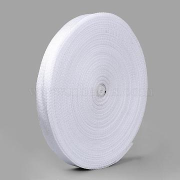 Polypropylene Fiber PP Ribbons, White, 1inches(25mm)x1mm; about 50yards/roll(45.72m/roll)(OCOR-S110-2)