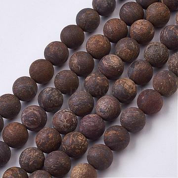 9mm Round Bronzite Beads