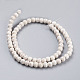 1 Strand Synthetic Howlite Beads Strands(X-TURQ-6D-07)-2