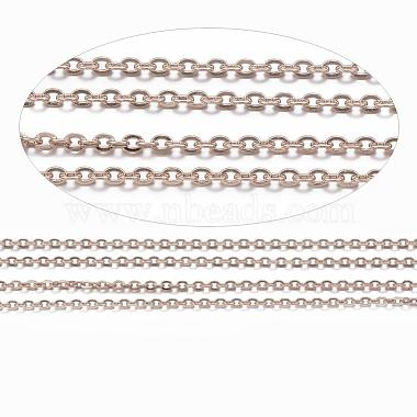 Vacuum Plating 304 Stainless Steel Cable Chains(CHS-H007-01RG)-2