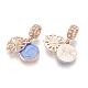 Alloy European Dangle Beads(MPDL-S066-056RG)-2